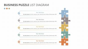 Free Free Business Puzzle List Diagram
