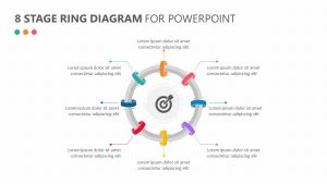 8 Stage Ring Diagram for PowerPoint