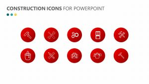 Construction Icons for PowerPoint