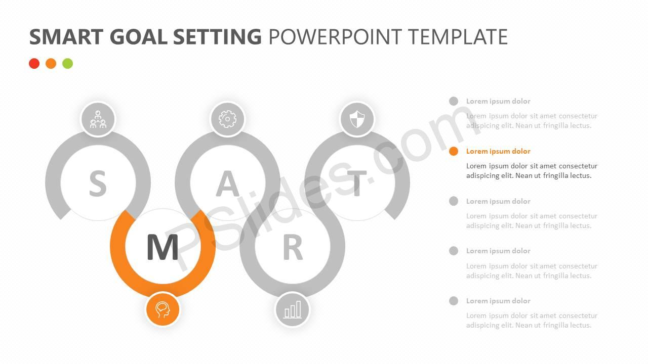 smart goal setting powerpoint diagram pslides With smart goals diagram