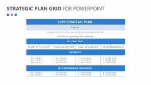 Strategic Plan Grid for PowerPoint