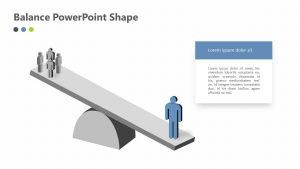 Free Balance PowerPoint Shape