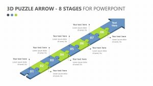 3D Puzzle Arrow – 8 Stages