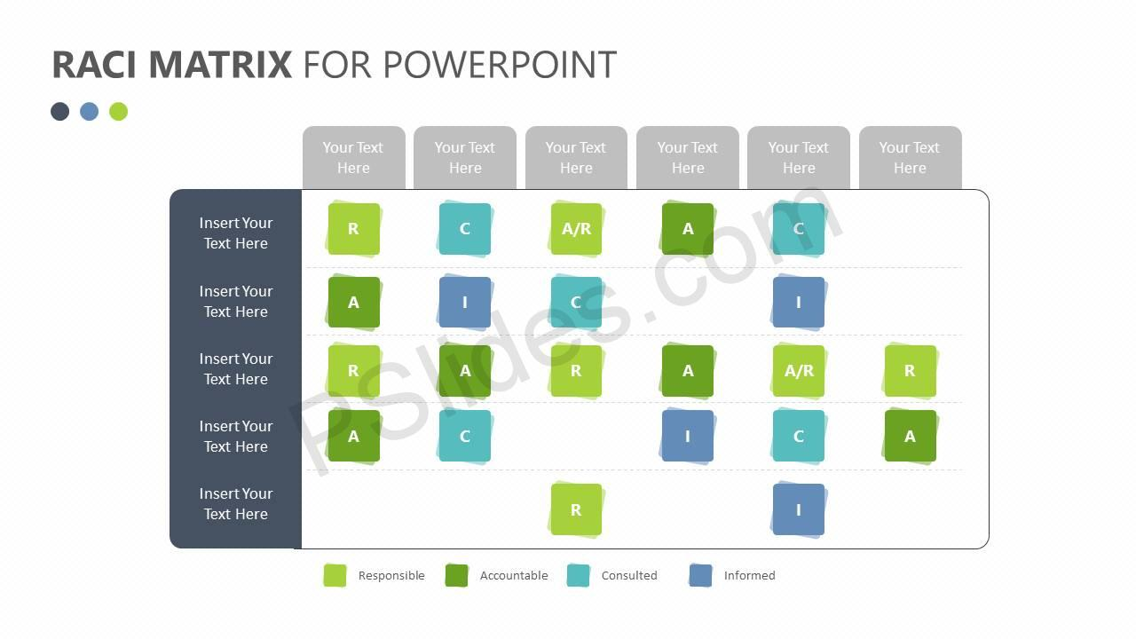 raci matrix for powerpoint pslides