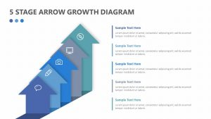 5 Stage Arrow Growth Diagram