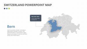 Switzerland PowerPoint Map