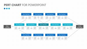 PERT Chart for PowerPoint