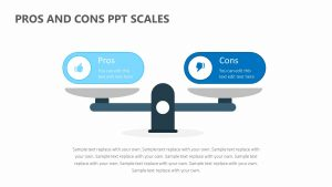 Pros and Cons PPT Scales