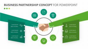 Business Partnership Concept for PowerPoint