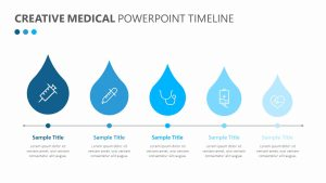 Creative Medical PowerPoint Timeline