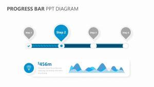 Progress Bar PPT Diagram Slide 1