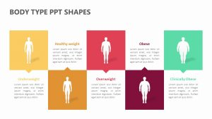 Body Type PPT Shapes
