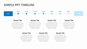 Simple PPT Timeline