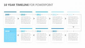 10 Year Timeline for PowerPoint