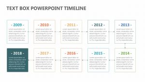 Text Box PowerPoint Timeline