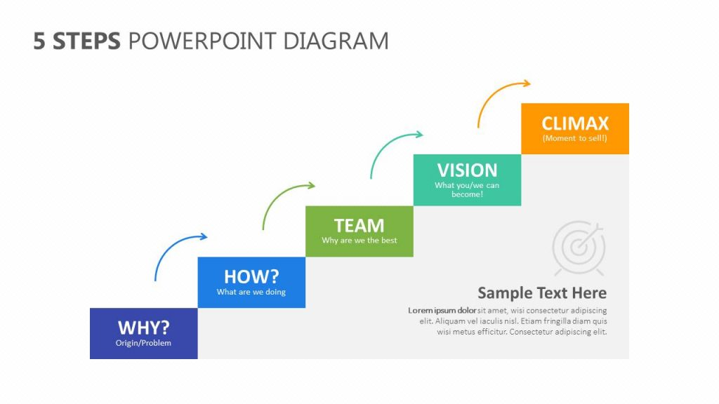 5 Steps PowerPoint Diagram