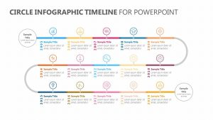 Circle Infographic Timeline for PowerPoint