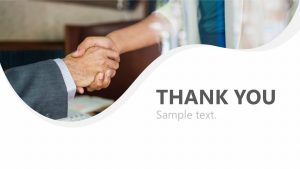 Business Thank You Slide for PowerPoint