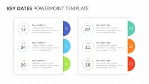 Key Dates PowerPoint Template