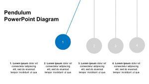 Pendulum PowerPoint Diagram