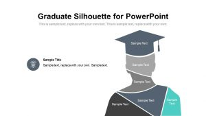 Graduate Silhouette for PowerPoint