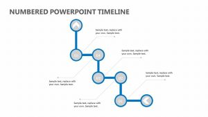 Numbered PowerPoint Timeline