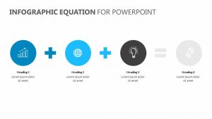 Infographic Equation for PowerPoint