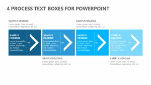 4 Process Text Boxes for PowerPoint