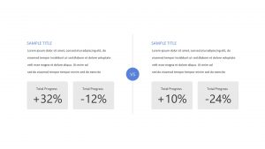 Company Comparison PowerPoint Diagram