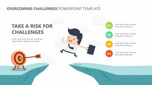 Overcoming Challenges PowerPoint Template