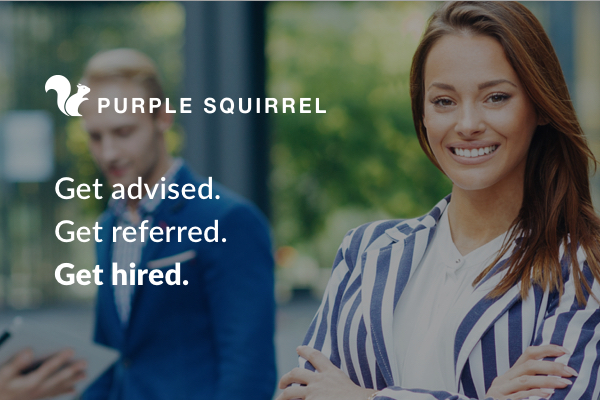 Purple squirrel get noticed get referred get hired malvernweather Image collections