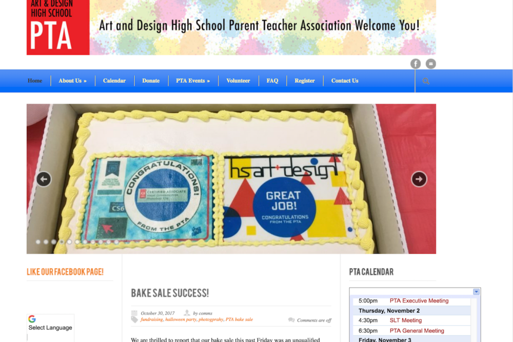 ptalink how to build a pa pta website