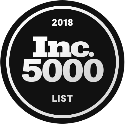 Inc. 5000 List 2018 Badge
