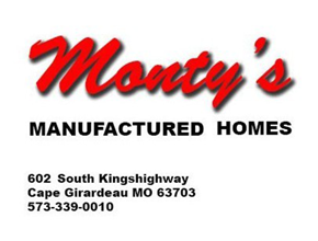 Monty's Manufactured Homes Logo