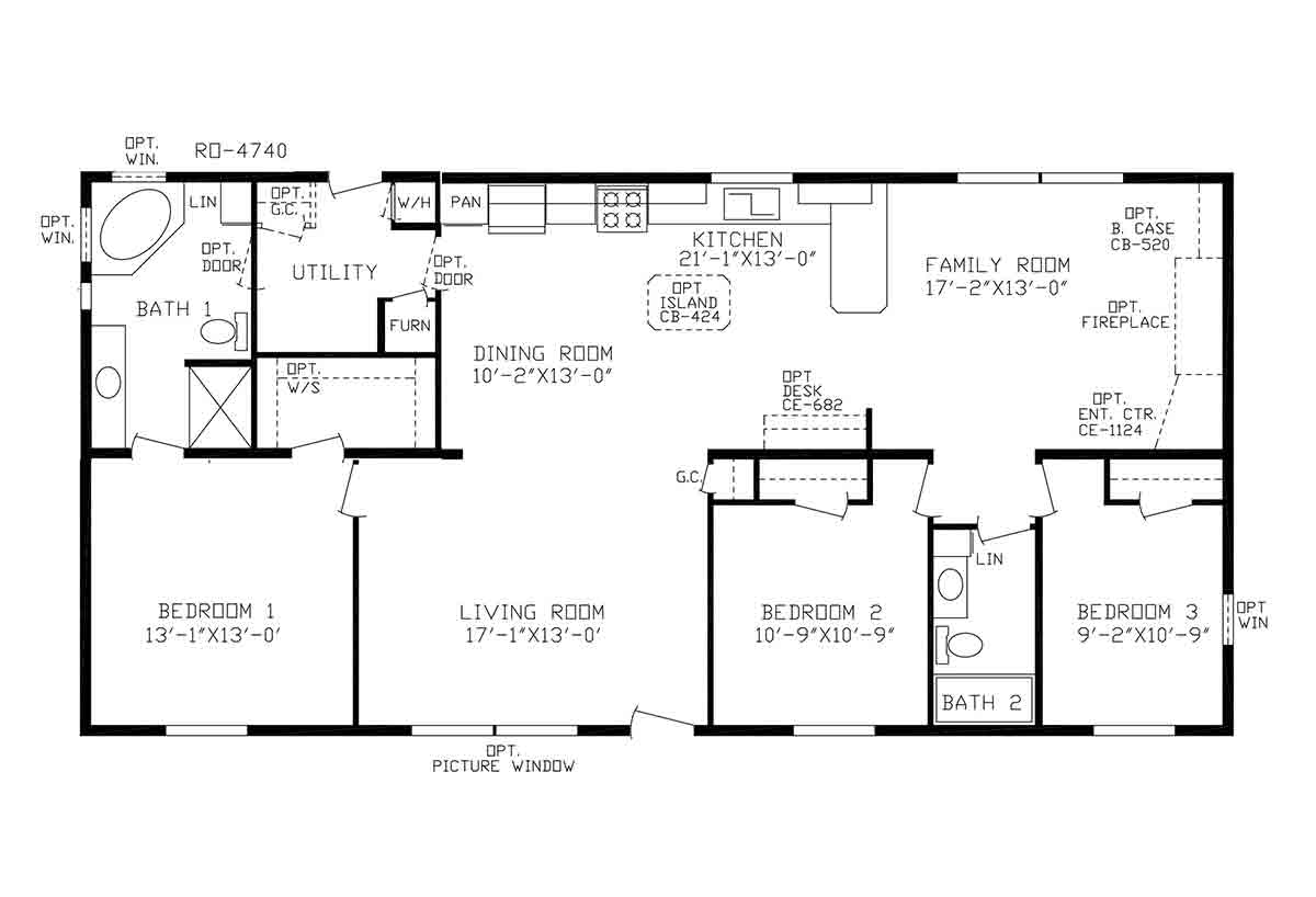 Centennial Homes / The Curryview - Layout