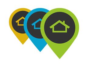Mustang Homes and Land Logo