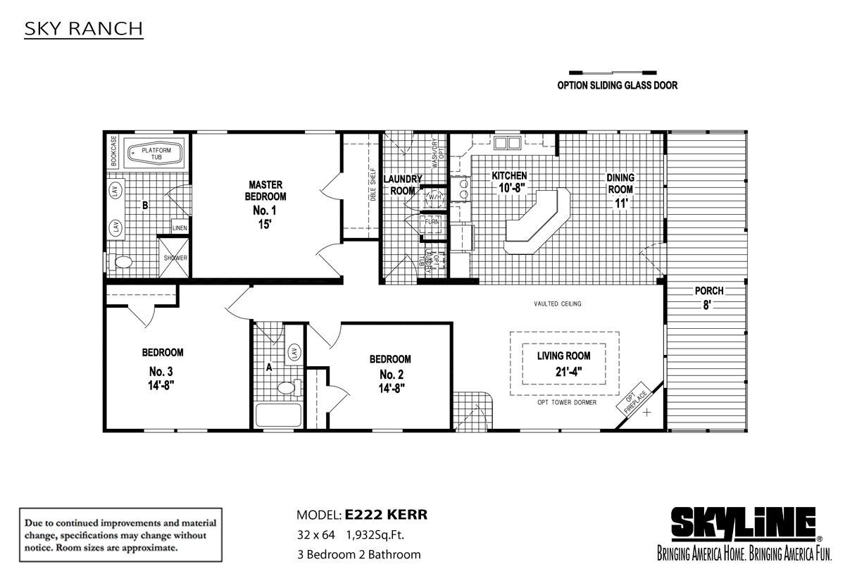 Sky Ranch / E222 Kerr - Layout