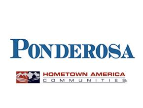 Hometown America Ponderosa Logo