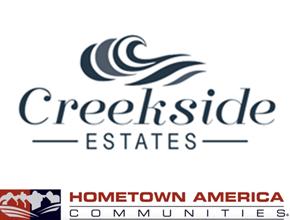 Hometown America Creekside Estates Logo