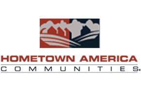 Hometown America Miller's Woods & River Bend Logo