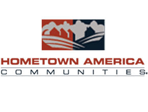 Hometown America Oak Point Logo