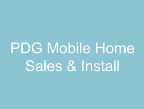 PDG Mobile Home Sales & Install Logo