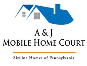 A & J Mobile Home Court Logo