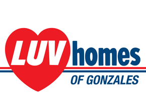 Luv Homes of Gonzales Logo