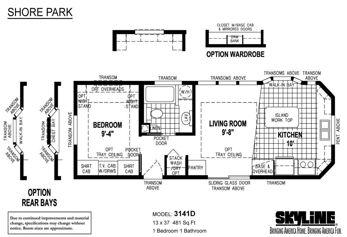 Park model homes floor plans cavco dc park model homes for 2 bathroom park model homes