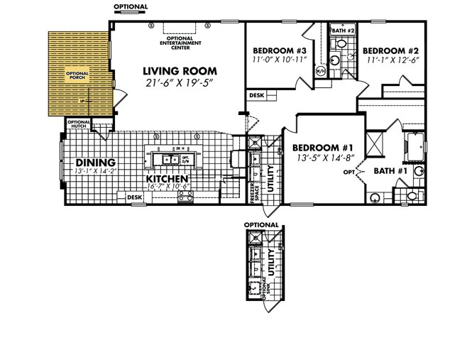 Heritage 3256x64 32a By Legacy Mobile Home Sales