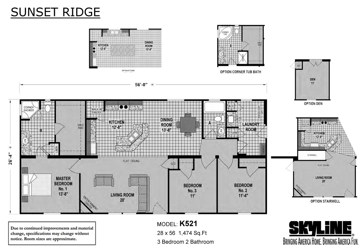Sunset ridge k521 by atlantic housing corp colonial for 521 plan