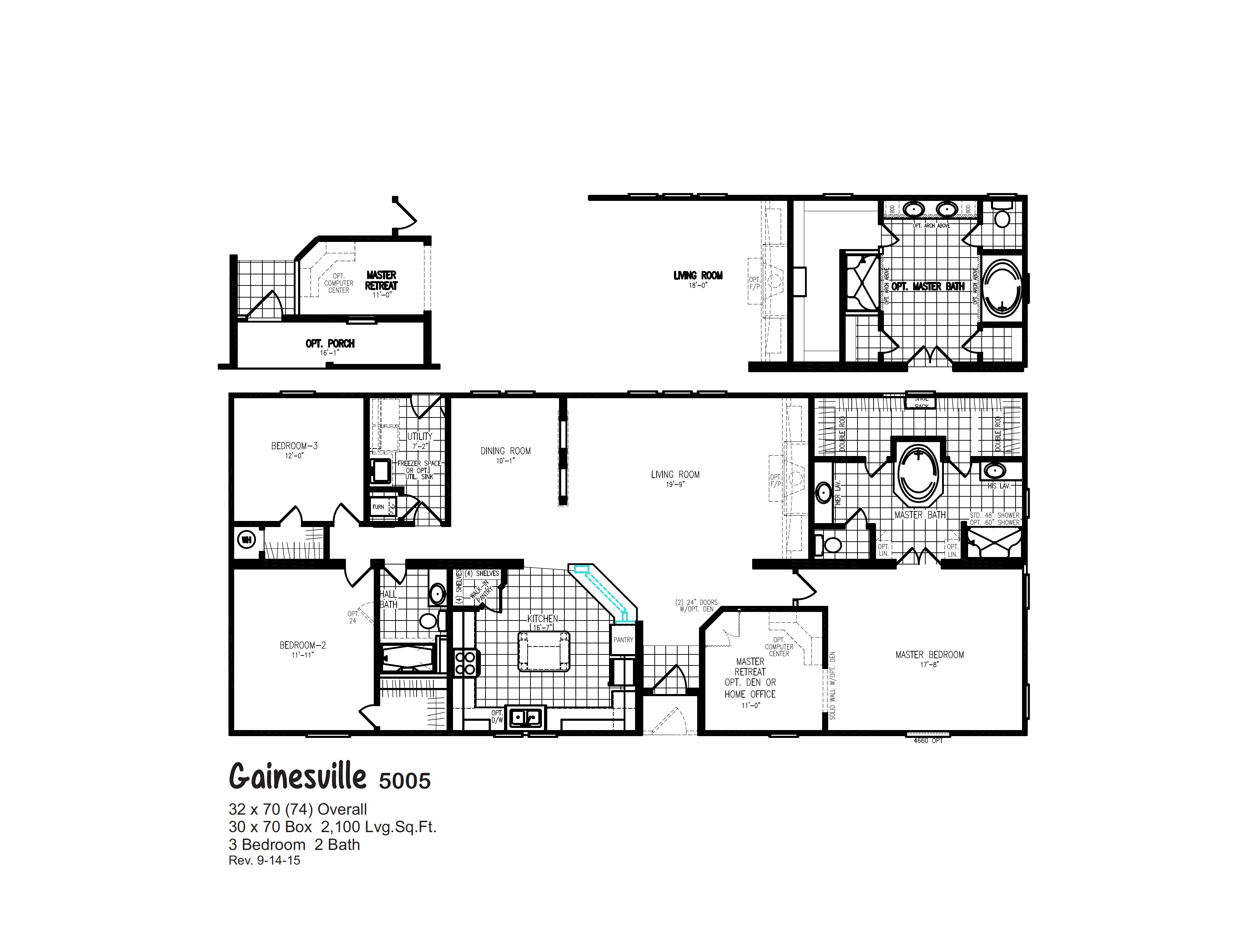Gainesville / 5005 By Oak Creek Homes New Orleans
