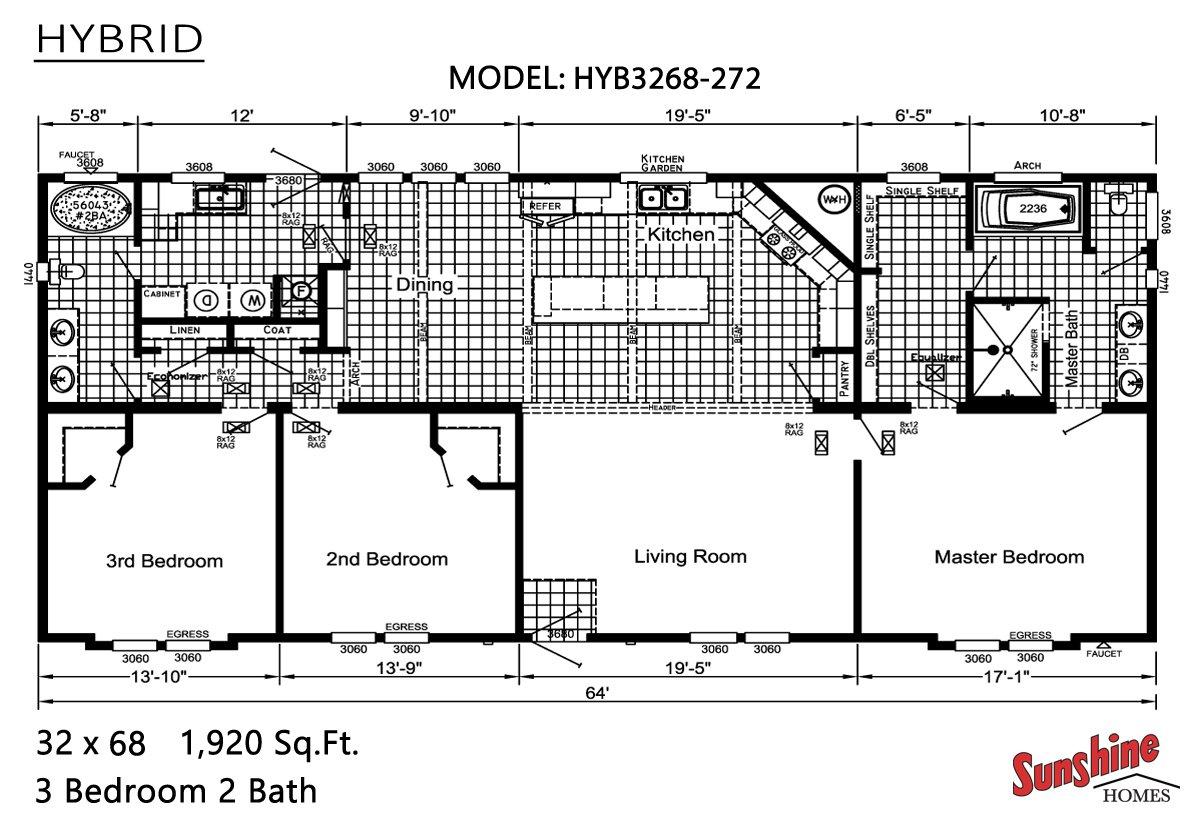 Hybrid HYB3268-272