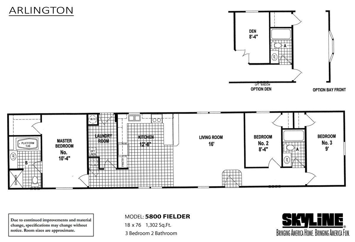 arlington 5800 fielder by skyline homes